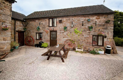 Meadow Cottage a great alternative to Alton Towers Hotel